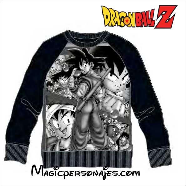 Negra 4441 Dragon Goku Ball Adulto Sudadera Ref dChtQrxs